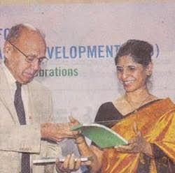 Vijaya Karnataka Newspaper Coverage of the Centre for Sustainable Development's 10th Annual Day, Bangalore. 9th December 2014